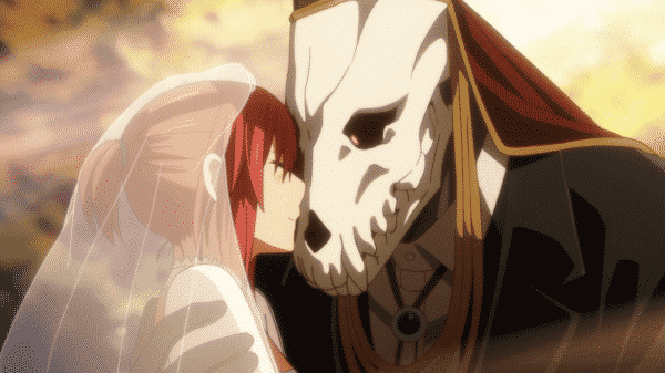 Chise and Elias snuggled up.