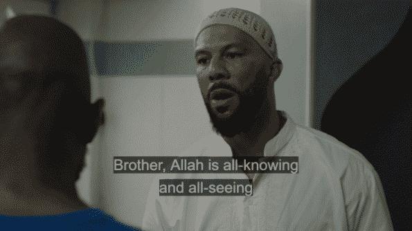 Rafiq talking to Ronnie about Allah.