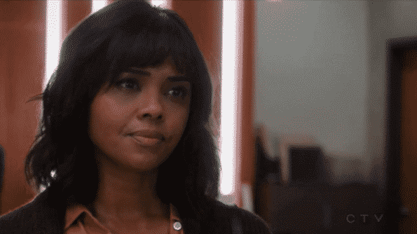 Sharon Leal as Claire's mom, trying to seemingly reconcile with her daughter.