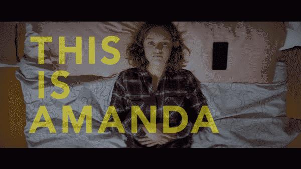 Olivia Cooke as Amanda.