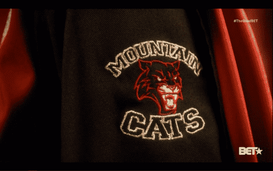 The GAMU Mighty Mountain Cats logo