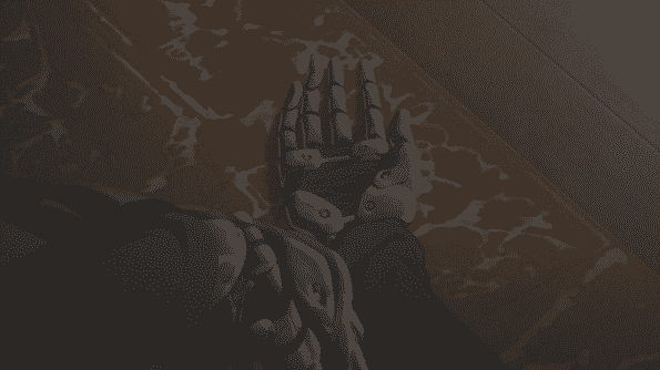 Violet's hands.
