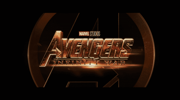 Title card for Avengers: Infinity War.