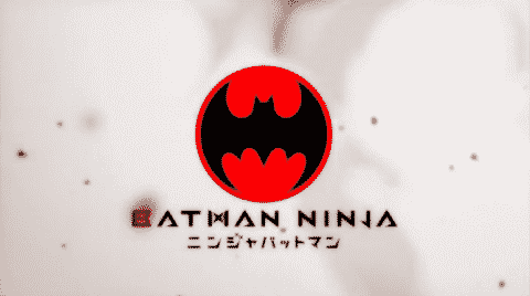 Title Card/ Logo for Batman Ninja.