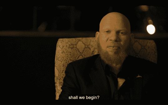 """Tobias saying, """"Shall we begin?"""""""