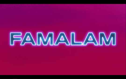 Title card for Famalam.