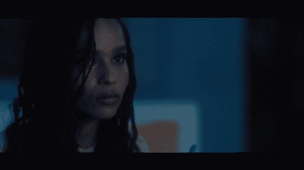 Zoe Kravitz as Heather in the movie Gemini.