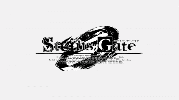 Title Card for Steins;Gate 0
