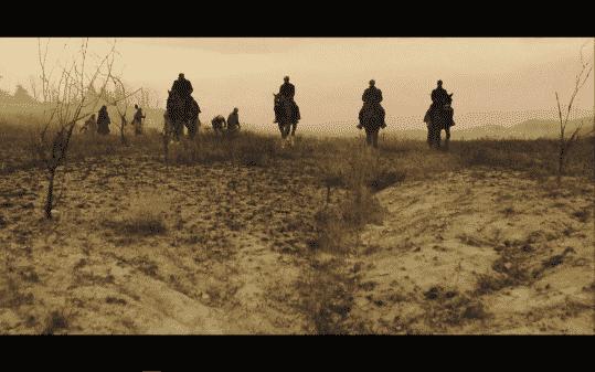 Four horsemen monitoring unwomen in the colonies.