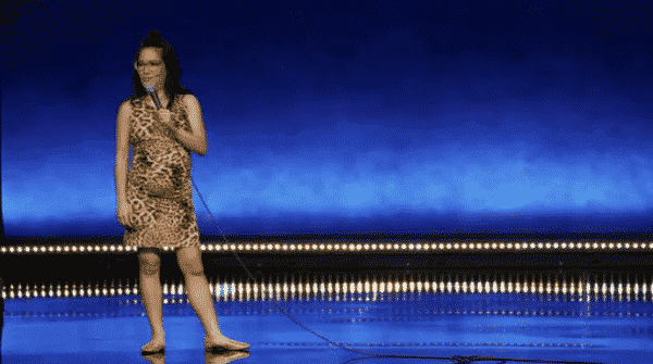 """Title Card for Ali Wong's Netflix comedy special """"Hard Knock Wife"""""""