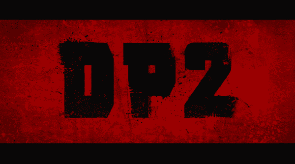 Deadpool 2 title card.