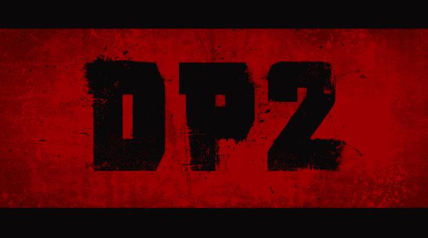 Deadpool 2 title card.