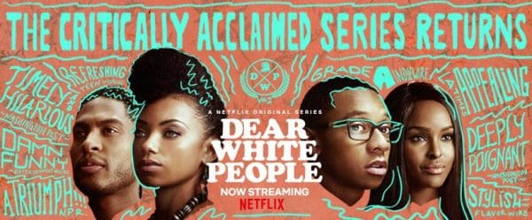 Volume 2 title card for Dear White People.
