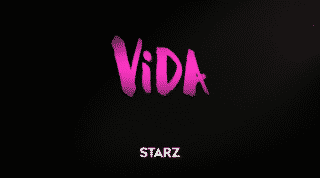 Series title card for Vida.