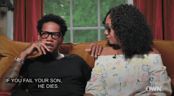 DL Hughley talking about his fears in raising a Black male. Especially one with Asperger's.