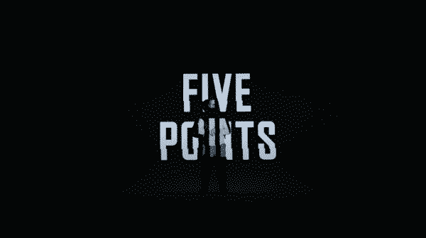 Title card for episode 3 of Five Points featuring Wallace.