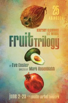 The poster for the Fruit Trilogy.