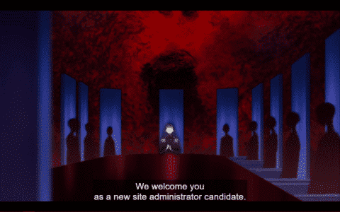 The head of the site admins announcing a new candidate.