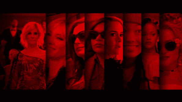 The cast of Ocean's 8.