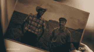 Ernest and Prosper in a old photograph.