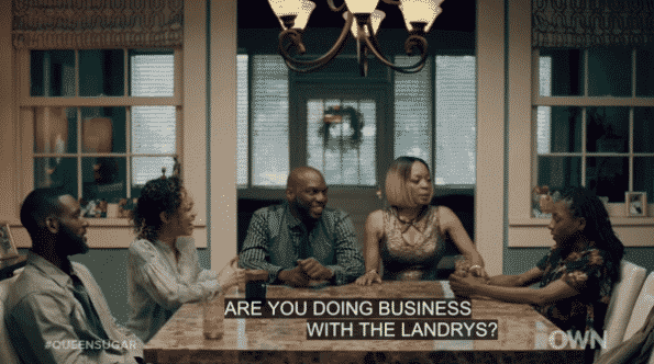 Nova confronting Charley about being in business with the Landrys.