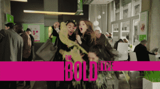 Title card for episode 2 of season three of The Bold Type