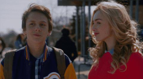 Stars of The Swap - Jacob Bertrand and Peyton List