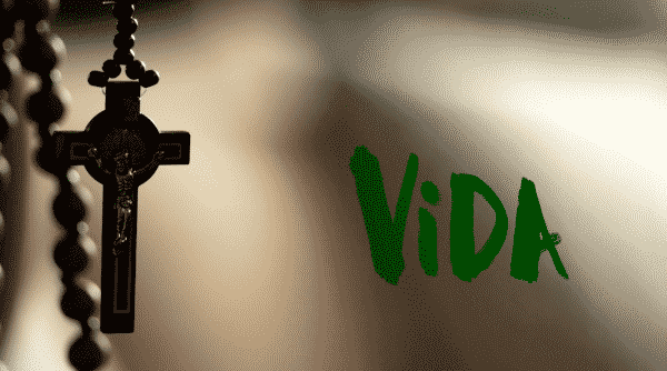 Title card for episode 5 of Vida.