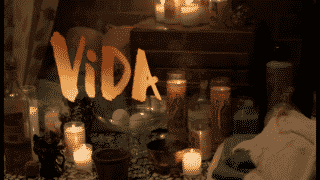 Title card for season finale of Vida.