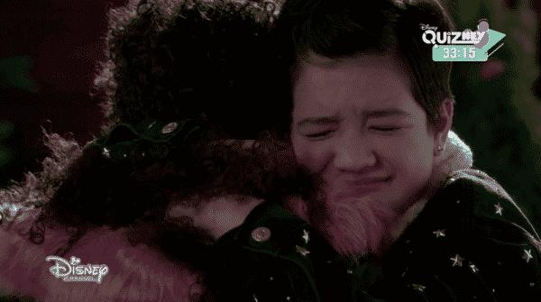 Andi hugging Buffy.