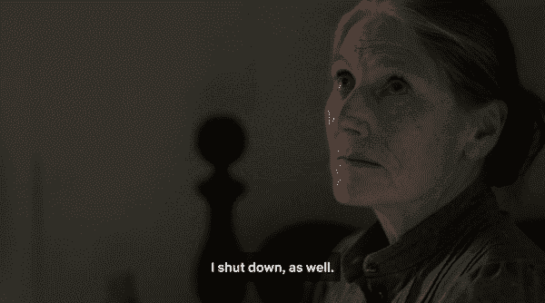 Marilla noting that, to cope, she also shut down and avoided living.