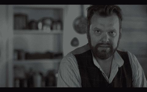Mr. Dunlop (Shane Carty) looking menacing.