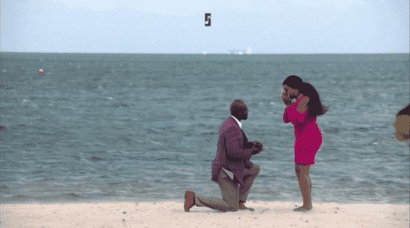 Ruval proposing to Desna.