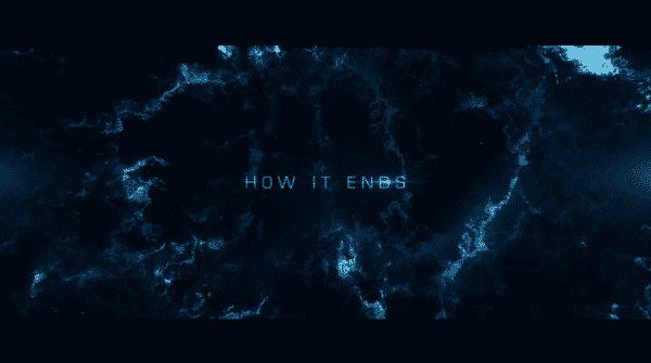 Title card for Netflix's How It Ends.