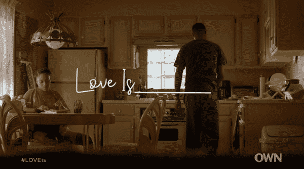 Title card for Love Is episode 4 featuring Ruby and Yasir.