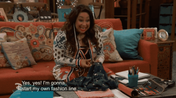 Raven excitedly talking about starting her fashion line, Ravenous.