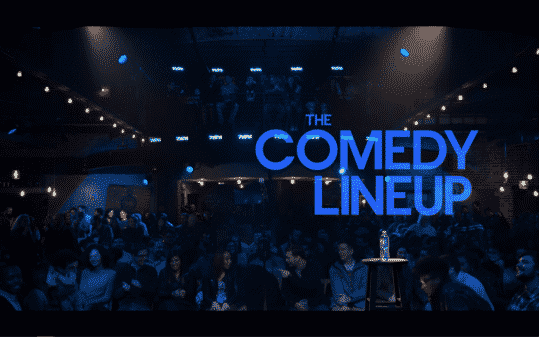 "Title Card for Netflix's ""The Comedy Lineup"""