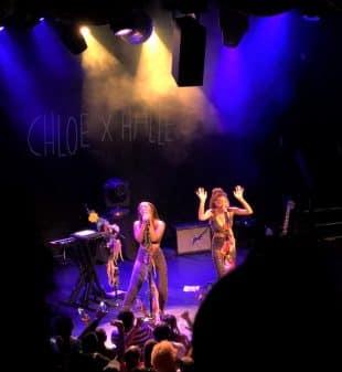 Chloe x Halle at Bowery Ballroom.