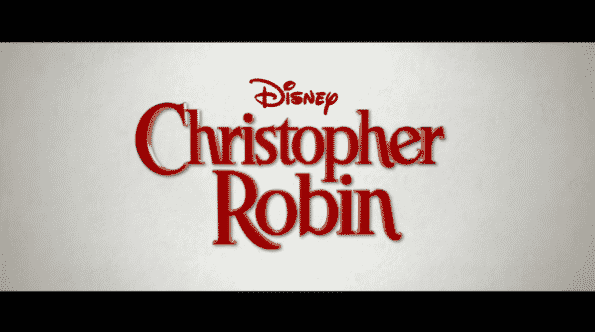 Title card for Christopher Robin