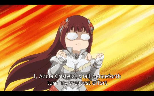 Alicia: I, Alicia Cristela, shall henceforth turn my greatest effort