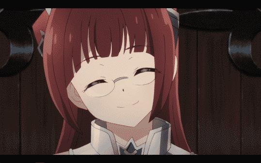 Alicia smiling.