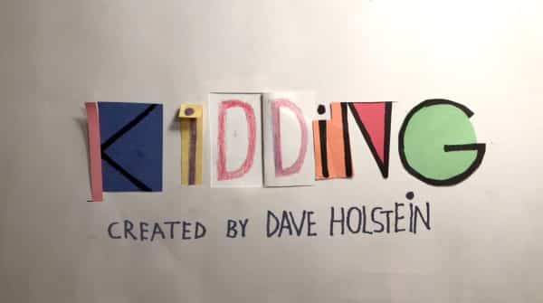 "Title card for the show ""Kidding"""
