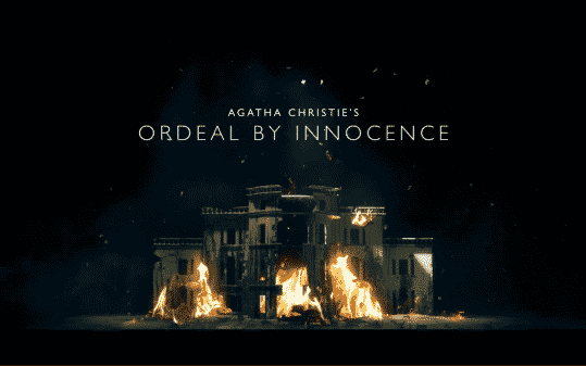 Title Card for Amazon Prime's Ordeal by Innocence.