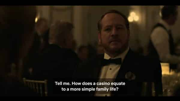 Charles asking to be convinced about Marty's casino idea.