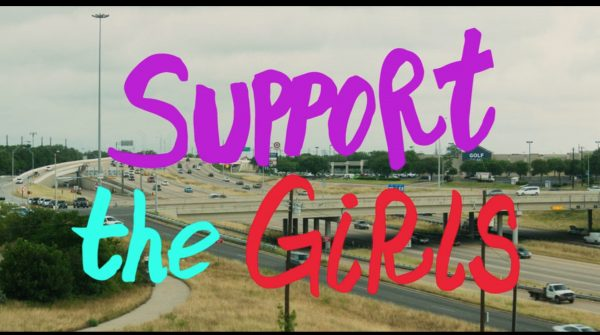 Title card for Support the Girls.