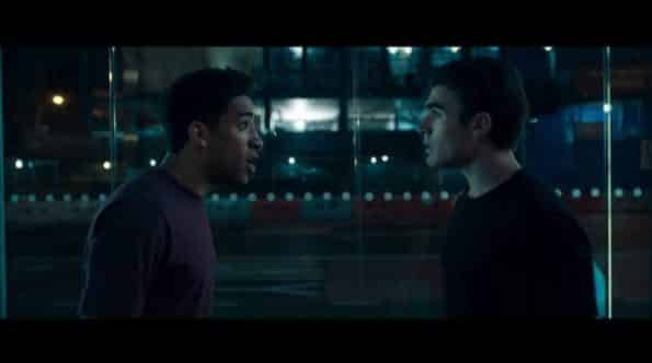 Owen yelling at Jeffrey.