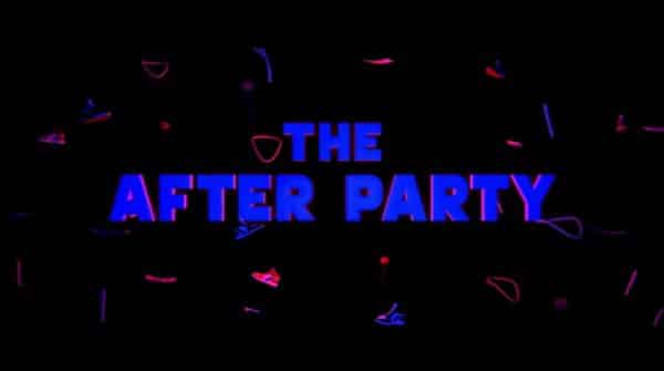 Title card for Netflix's After Party.