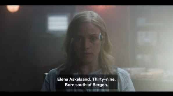 Elena stating her name, age, and where she was born.