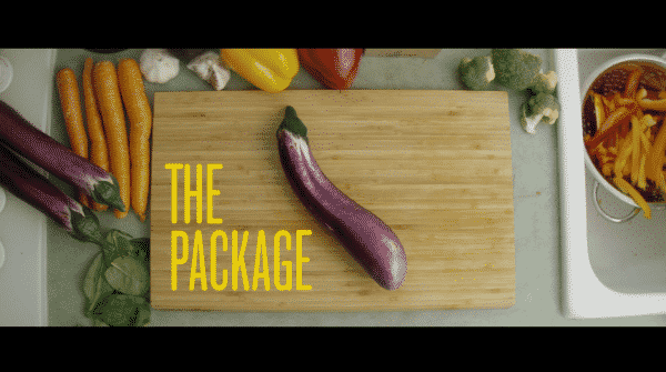 Title Card for The Package