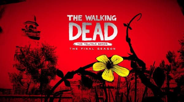 Title card for the final season of TellTale's The Walking Dead.